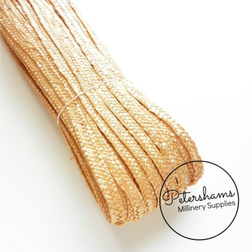 Traditional Millinery Straw Pedal Braid for Hat Making Full Hank 80m