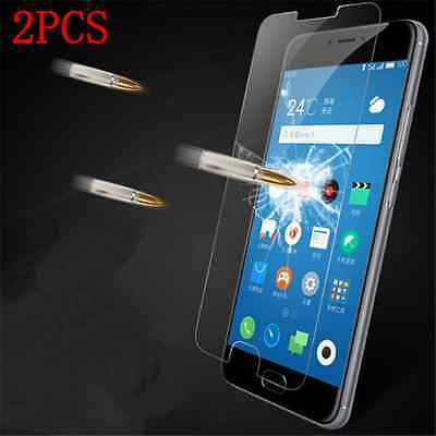 2PCS Clear Tempered Glass Screen Protector For Meizu M3 Note/Meilan Note 3 New
