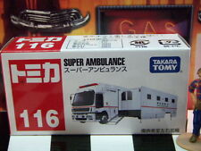 TOMICA #116 SUPER AMBULANCE NEW IN BOX