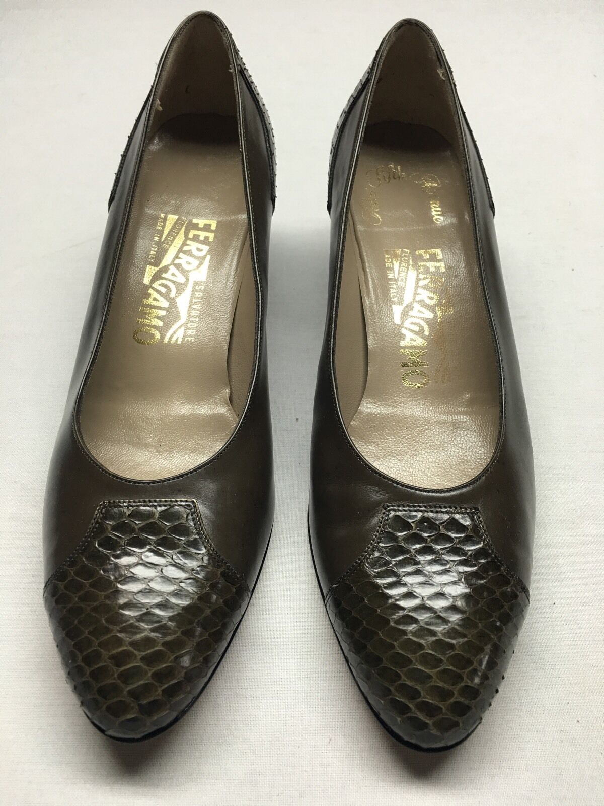 Salvatore Ferragamo Pumps 7.5 7.5 7.5 B ca2584