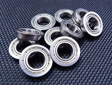 "10 PCS 1//4/"" x 1//2/"" x 3//16/"" FR188zz Flange Metal Shielded Ball Bearing FR188z"