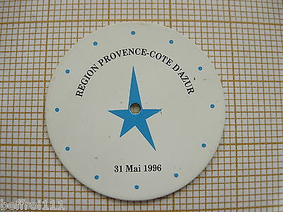 Adattabile Cadran De Montre Region Provence Cote D'azur 31 Mai 1996 28mm Vintage,collector Disabilità Strutturali