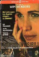 Crimini invisibili (1997) VHS CGG   Wim Wenders Gabriel Byrne