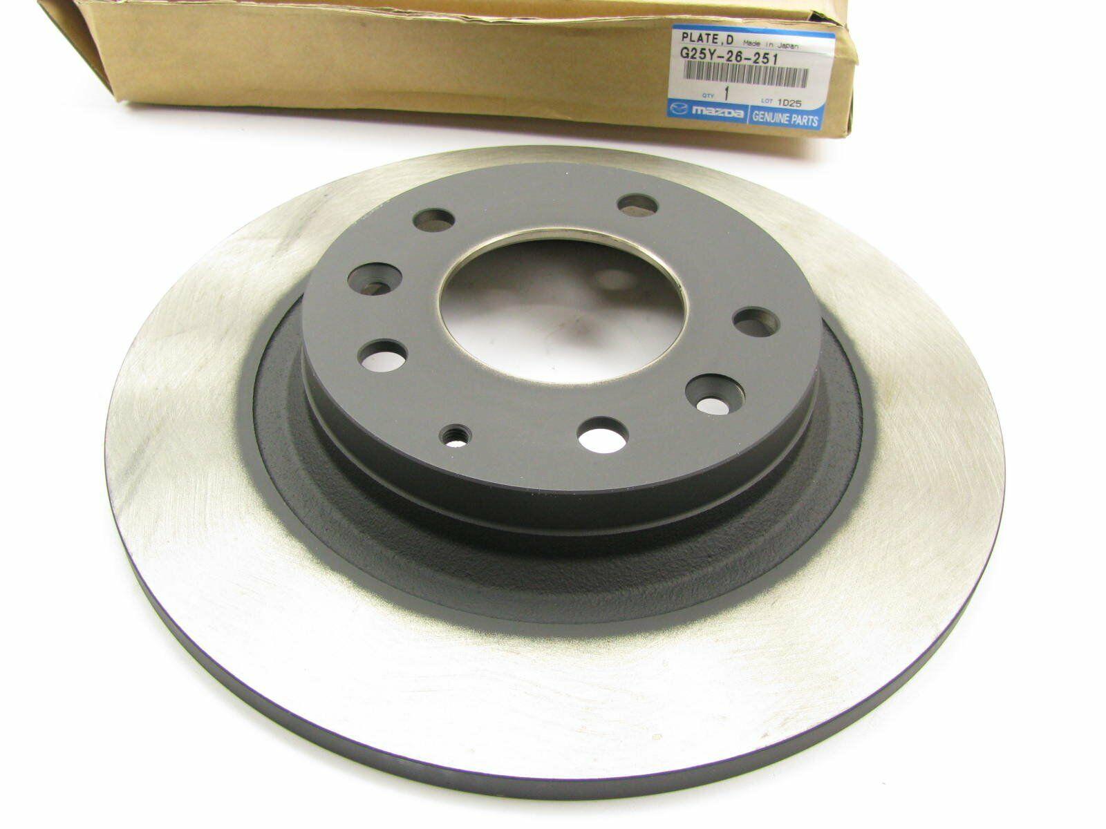 NEW GENUINE OEM Mazda G25Y-26-251 Rear Disc Brake Rotor PRT5499