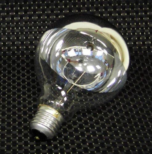 Globe Kopfspiegel Lampe Ø95mm E27 42 Watt silbern B5509