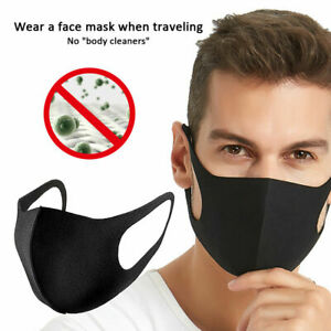 10/20Pcs PM2.5 lavable Earloop Masque Bouche Masque Respirateur