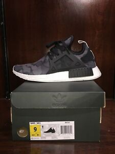 bf2c9bc06 Image is loading Adidas-NMD-XR1-034-Black-Camo-034-BA7231