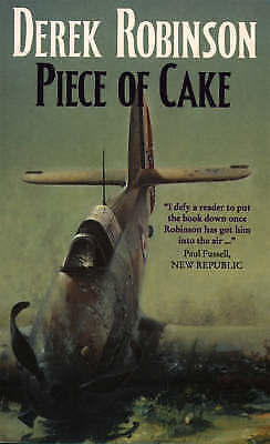 (Good)-A Piece of Cake (Mass Market Paperback)-Robinson, Derek-0006473334