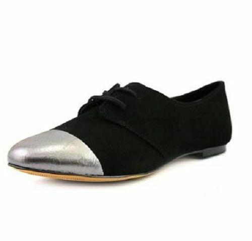 Splendid Size 7.5 M Nickerie Black Suede Oxfords New Womens shoes