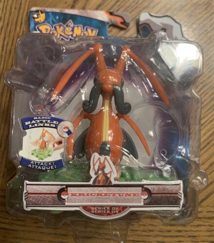 Pokemon DP Battle Dimension Kricketune figure MOC Series 9 Battle Links 2008