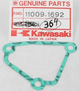 KAWASAKI KX125 KDX200 GOVERNOR COVER GASKET RH 11009-1692 OEM #11009-1934