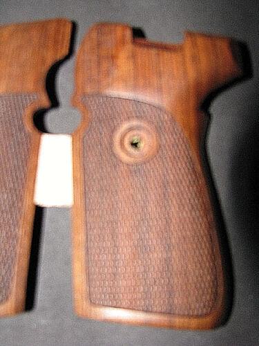 Pistolet Carrosserie pour SIG P239 239 Anglais noyer entièrement CHECKERED RARE MAGNIFIQUE!