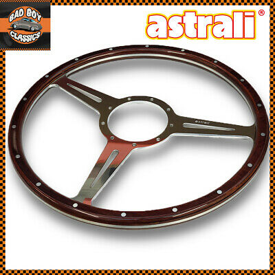 "Astrali ® Classic Bois 14/"" Volant Compatible Avec Moto-Lita Boss."