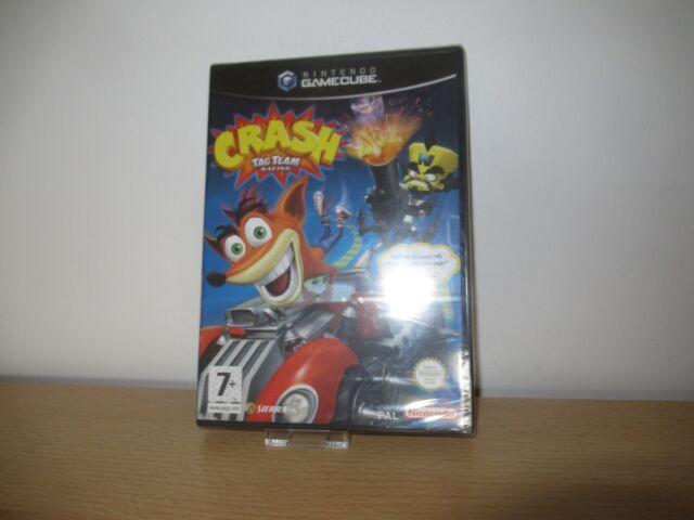 Crash Tag Team Racing Nintendo Gamecube Game - NEW  SEALED pal
