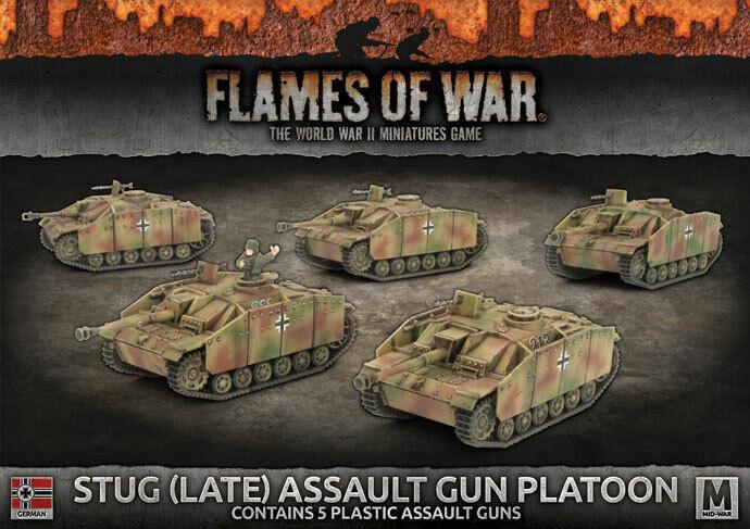 Battlefront - Stug (Late) Assault Gun Platoon - Flames Of War Kursk - Gbx123