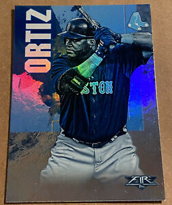 DAVID-ORTIZ-BOSTON-RED-SOX-2019-TOPPS-FIRE-034-BLUE-CHIP-034-PARALLEL-CARD-93