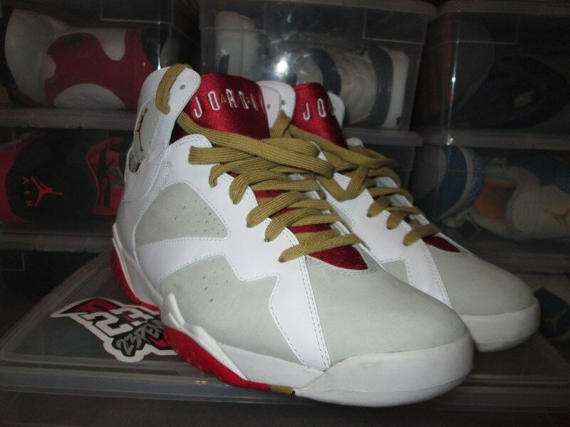 SALE AIR JORDAN 7 RETRO YEAR OF RABBIT VII YOTR RED WHITE SZ 11.5