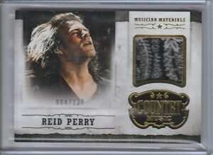 2015 Country Music Musician Materials Gold #28 Reid Perry 004/130