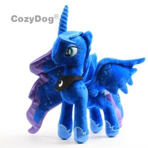 Luna-Nightmare-Moon-Stuffed-Plushie-Doll-Univorn-Horse-Plush-Toy-12-039-039-Teddy