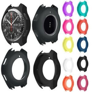 For-Samsung-Gear-S3-Frontier-Soft-Silicone-Bracelet-Strap-Watch-Band-Case-Cover