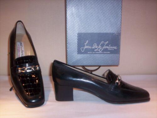 Femme La Talons 5 Mocassins Chaussures Jean Noir 38 N Classiques De Élégants Fontaine fnaRWYqW