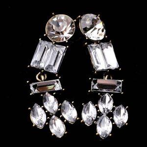 punk-hip-hop-statement-Jewelry-Gold-Plated-crystal-Rhinestone-ear-Stud-Earrings