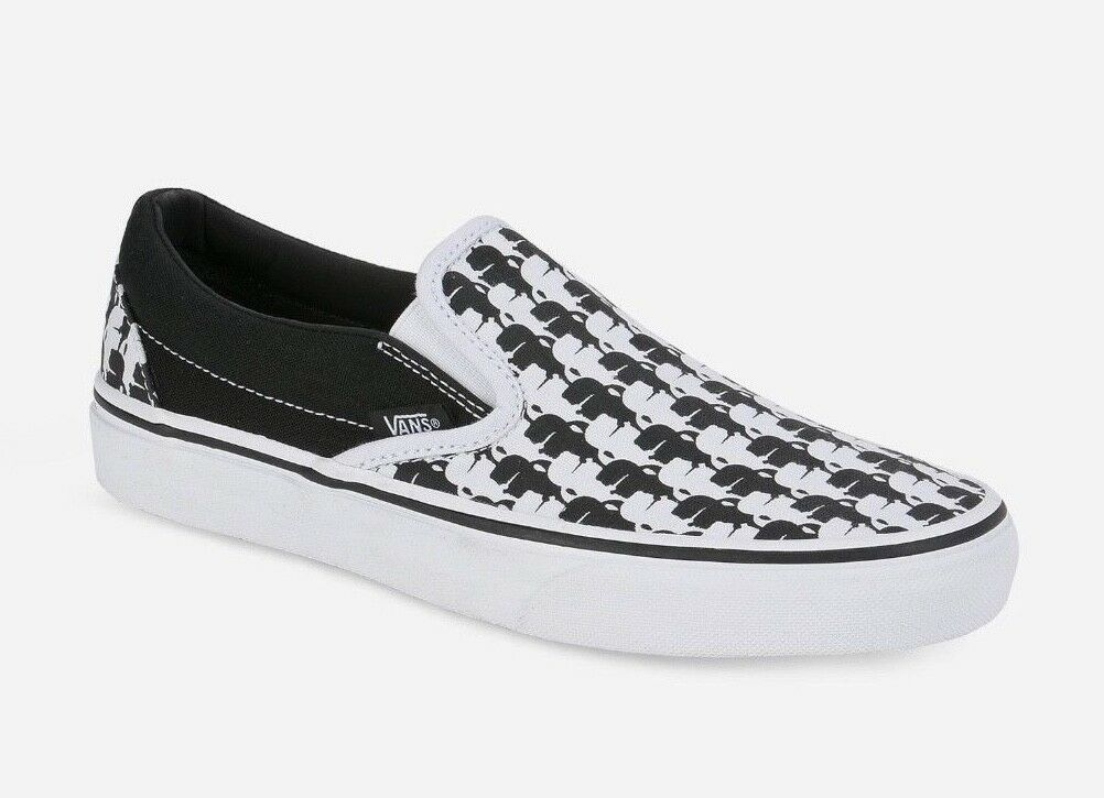 NEW VANS X KARL LAGERFELD CLASSIC SLIP-ON US Uomo SIZE (6.5) US Donna SIZE (8)
