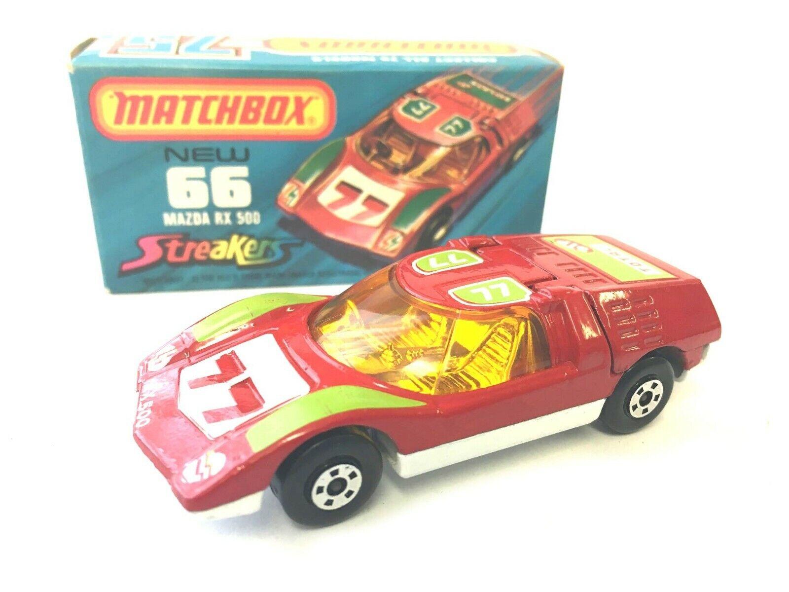 MATCHBOX 66 Mazda RX 500 rubano VINTAGE nella scatola originale