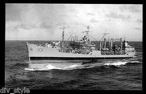 USS-Cimarron-AO-22-postcard-US-Navy-ship-fleet-oiler