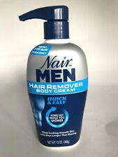 2 Nair Men Hair Remover Shower Power 5 1oz Back Chest Arms Body