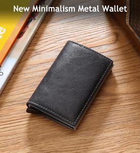 Credit-Card-Holder-Men-Wallets-And-Women-Metal-RFID-Vintage-Aluminium-Box-Crazy