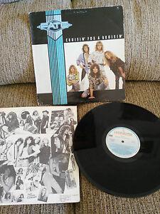 "Fate Cruisin For A Bruisin LP 12 "" vinyl Vinyl 1988 G VG Spanisch Ed Hispavox 2T"