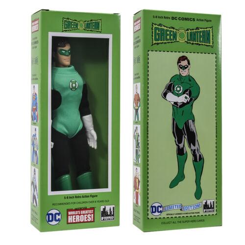 environ 20.32 cm DC Comics Style Rétro Boîte 8 in Green Lantern action figures