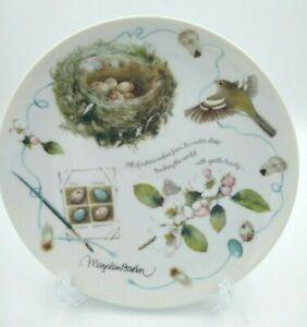 "1995 Retired Hallmark ""Building A Nest"" Collector's Plate Marjolein Bastin"