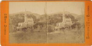 Pesanti Pellegrinaggi Francia Foto Viron Stereo N2 Vintage Albumina Ca 1870