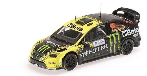 FORD FOCUS WRC BETA Monstre Valentino Rossi Rally Monza 2009 1 43 Model