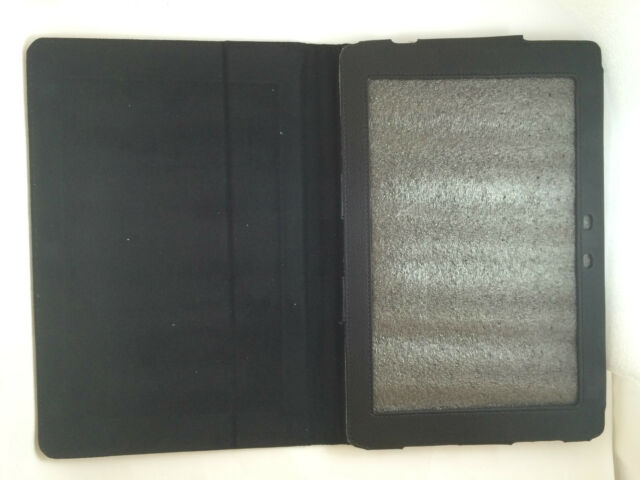 "FUNDA CARCASA DE LIBRO PARA TABLET ASUS TRANSFORMER PAD TF101 10.1"" COLOR NEGRO"