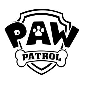 Paw Patrol de la plantilla