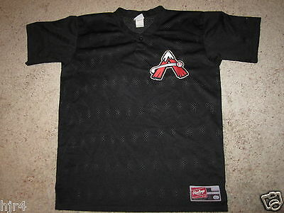 Weitere Ballsportarten Fanartikel DemüTigen Salem Avalanche Mlb Minor League Colorado Rockies Trikot L
