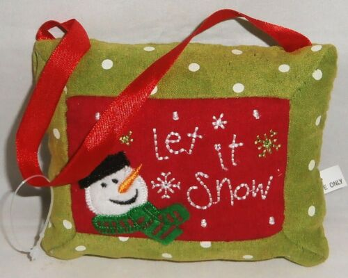Christmas Gift Card Holder  LET IT SNOW