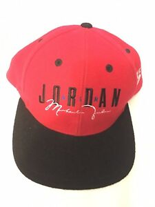 febfc0f86e4f7d Image is loading Nike-Air-Jordan-Spellout-Black-Red-Wool-Vintage-
