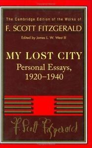 The Cambridge Edition Of The Works Of F Scott Fitzgerald  Stock Photo