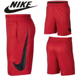 nike shorts red