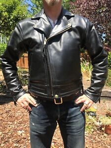 Langlitz Columbia Leather Motorcycle about Jacket Details SqUzVpM