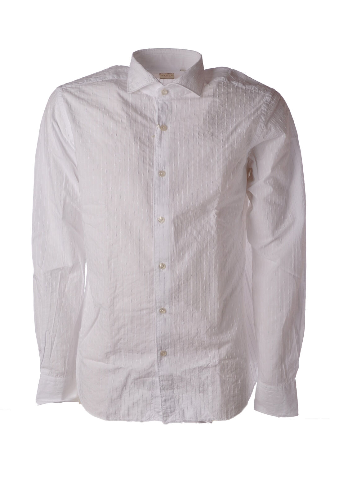 Xacus - bluesen-Shirt - Mann - white - 4885406E184845