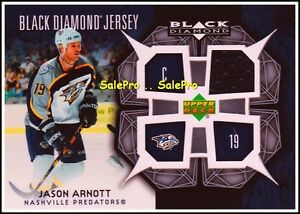 UD-BLACK-DIAMOND-2007-JASON-ARNOTT-NHL-NASHVILLE-PREDATORS-GAME-JERSEY-BDJJA