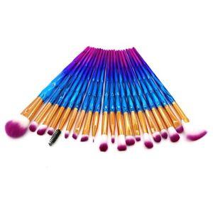 20 pcs cosmetic makeup brushes set blender powder
