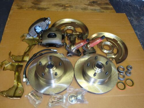 1968 1969 1970 1971 1972 CHEVELLE FRONT DISC BRAKE STOCK HEIGHT  11 ROTORS