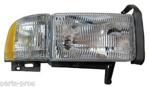 New-Replacement-Headlight-Assembly-RH-FOR-1994-01-DODGE-RAM-TRUCK-W-O-SPORT