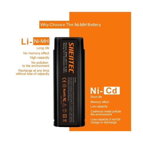 Shentec 2 Pack 3000mAh 6V Battery Compatible with Paslode 404717 B20544E BCPA...